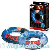 Надувной круг для плавания с ручками Bestway 31203 Звездные Войны: 2 вида, 91см