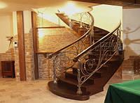 Кованые лестницы, перила.