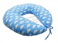 *Подушка для кормления KIDIGO Тучки (с наволочкой)