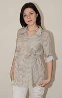 Летняя рубашка для беременных трикотажная