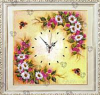 """Набор для вышивания лентами """"Часы 2"""", фото 1"""