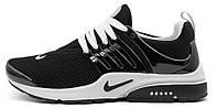 Мужские кроссовки Nike Air Presto (Найк Аир Престо) черные