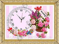 """Набор для вышивания лентами """"Часы 4"""", фото 1"""