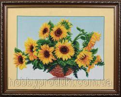 """Набор для вышивания бисером """"Солнечные цветы, фото 2"""