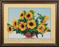 """Набор для вышивания бисером """"Солнечные цветы, фото 1"""