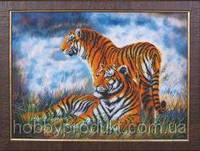 """Набор для вышивания бисером """"Тигры"""", фото 1"""