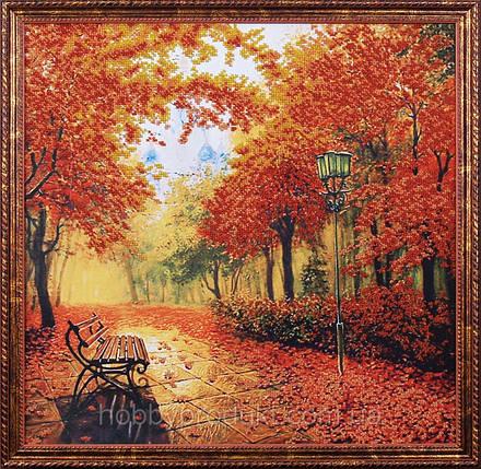 """Набор для вышивания бисером """"Осенний парк"""", фото 2"""