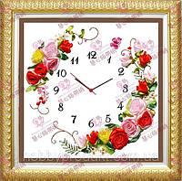 """Набор для вышивания лентами """"Часы 7"""", фото 1"""