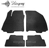 Комплект резиновых ковриков Stingray для автомобиля  Chevrolet Aveo (T300) 2011-   4шт.