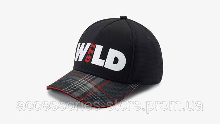 Бейсболка Volkswagen GTI Cap Wild, Black