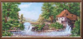"""Набор для вышивания бисером """"Водяная мельница"""", фото 2"""