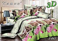 Комплект постельного белья Тет-А-Тет евро  S-045