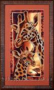 """Набор для вышивания бисером """"Африка. Жирафы"""", фото 1"""