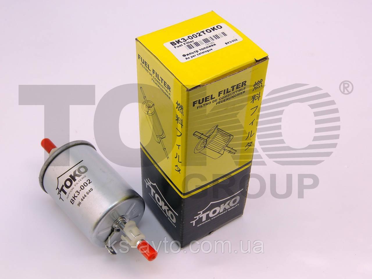 Фильтр Топливный Daewoo Lanos, Matiz, Nubira, Chevrolet Aveo, Epica. 1530-0728
