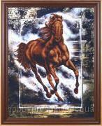 """Набор для вышивания бисером """"Победный конь"""", фото 1"""