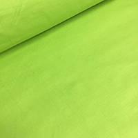 Однотонная бязь салатового цвета 125 г/м2 № 406а