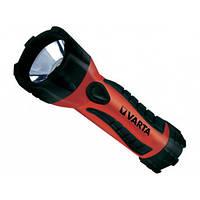 Ліхтарик Varta Industrial Rubbermate 18641 Led 2D +2R20 металевий
