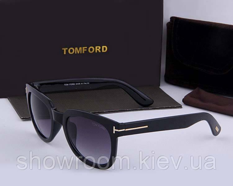 Солнцезащитные очки в стиле Tom Ford (5179) black