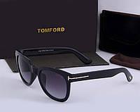 Солнцезащитные очки в стиле Tom Ford (5179) black, фото 1