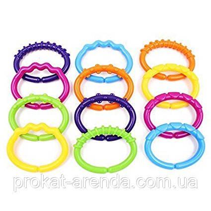 Развивающие кольца для новорожденных