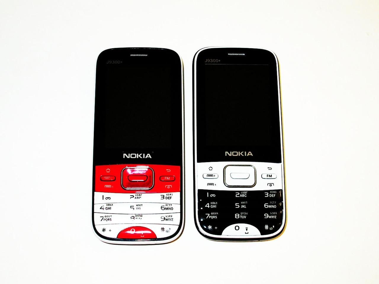 "Телефон Nokia J9300+ (Jaso) - 2Sim - 2.4"" - FM - BT - Cam - мощная батарея"
