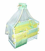 Детский постельный комплект Лягушонок