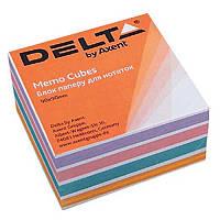 Блок бумаги для заметок«Color» D8023Delta by Axent,90х90х30мм
