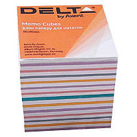 Блок бумаги для заметок«Mix» D8015Delta by Axent,90х90х80 мм