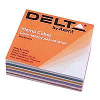 Блок бумаги для заметок«Mix» D8011 Delta by Axent,80х80х20 мм