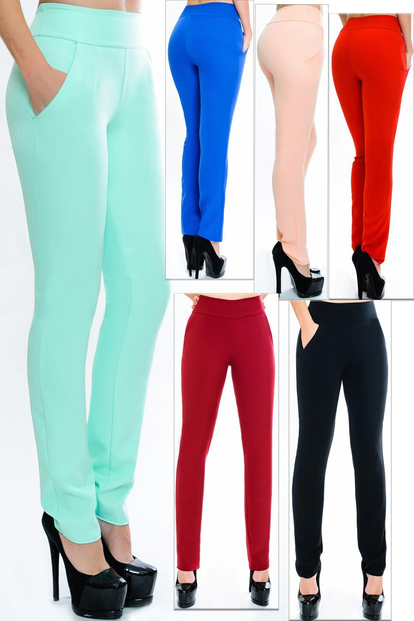 4ab1a4e0 Женские стрейчевые брюки