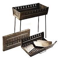 Мангал-чемодан УК-М10, на 10 шампуров