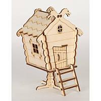 Сборная деревянная модель «Дом Бабы Яги» 71742