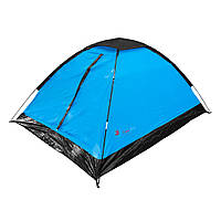 Палатка туристическая Time Eco Monodome 2-местная 205*150*105см
