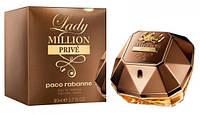 Женская туалетная вода Paco Rabanne Lady Million Prive, 80ml