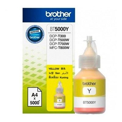 Жёлтые чернила Brother BT-5000Y (BT5000Y)