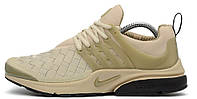 Мужские кроссовки Nike Air Presto Olive (Найк Аир Престо) бежевые