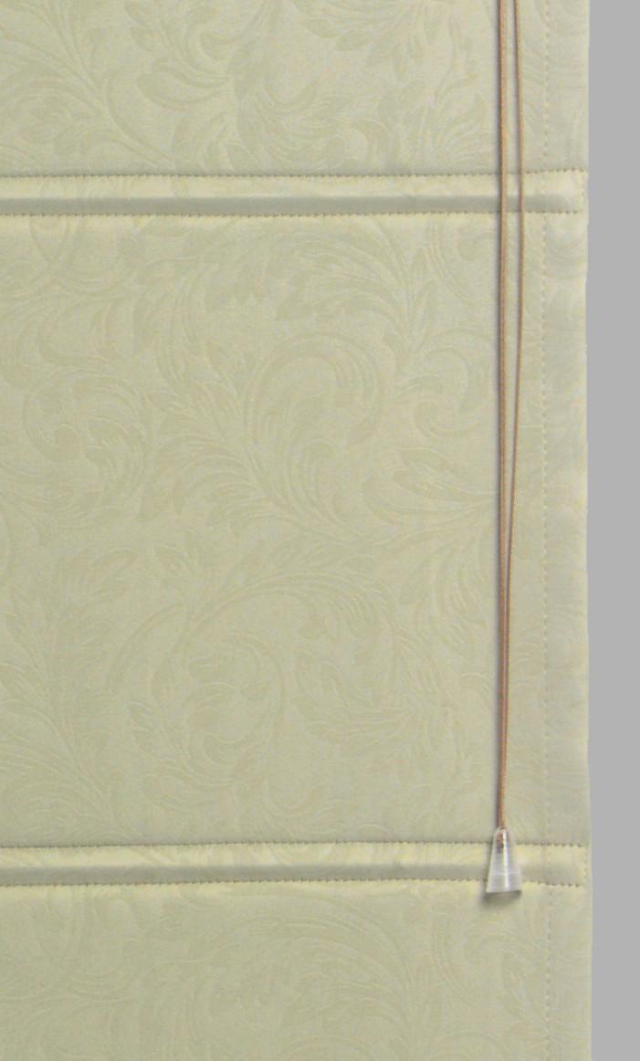 Римские шторы модель Соло ткань Блэкаут с рисунком