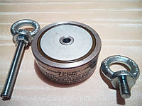 Поисковый магнит 300 кг*2  двухсторонний