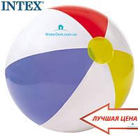 """Мяч """"Цветные Полоски"""" Intex 59020"""