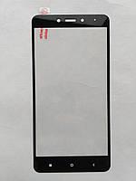 Защитное стекло для Xiaomi Redmi Note 4 с черной рамкой, фото 1
