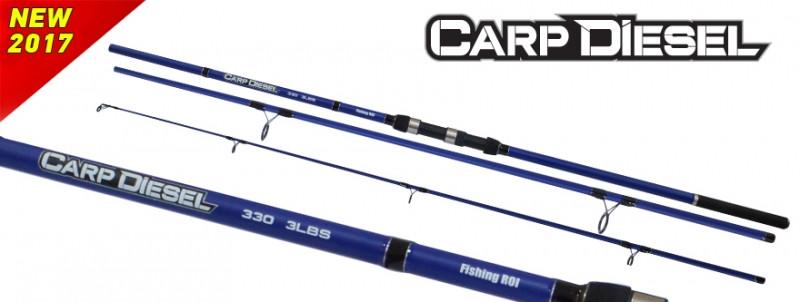 Удилище Fishing ROI Carp Diesel 390 3.5lbs