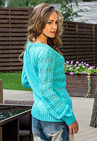 Теплый женский свитер у-t6104509