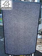 Тканевый коврик в прихожую Luna 90*60 см (серый)
