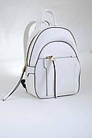 553972 Сумка - рюкзак, белый средний, 25*18*8.5 Weekend