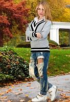 Стильный женский свитер у-t6104511