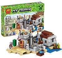 "Конструктор Lele 79148 ""Застава в пустыне"" Minecraft"