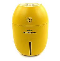 Мини-увлажнитель очиститель воздуха  Аmbiance с  USB желтый, увлажнители для квартиры, цветов, орхидей