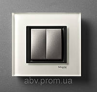 Рамка Uniсa Class Белое стекло, фото 1