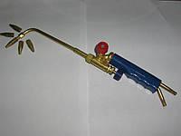 Горелка под пропан-кислород с набором сопловых вставок.