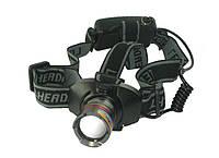 Фонарь Head Lamp 3W Cree Led With Zoom Light